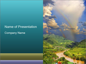 0000081042 PowerPoint Template - Slide 1