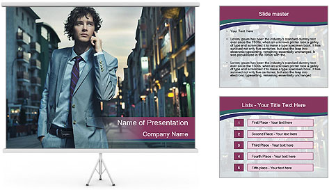 0000081052 PowerPoint Template