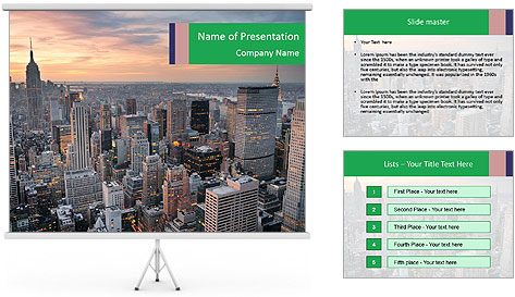 0000081718 PowerPoint Template