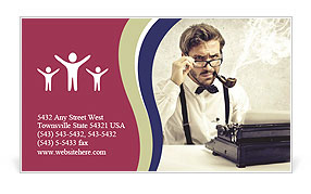 0000081825 Business Card Template