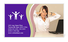 0000082010 Business Card Template