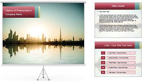 0000082027 PowerPoint Template