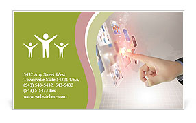 0000082041 Business Card Template