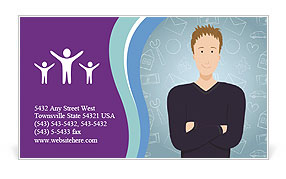0000082203 Business Card Template