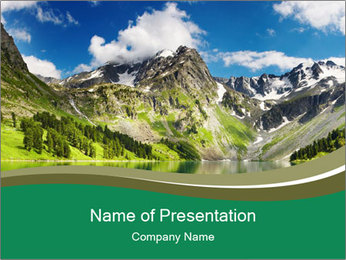 0000082209 PowerPoint Template - Slide 1