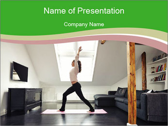 0000082280 PowerPoint Template - Slide 1