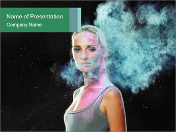 0000082284 PowerPoint Template - Slide 1