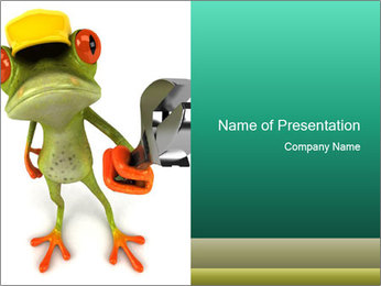 0000082412 PowerPoint Template - Slide 1