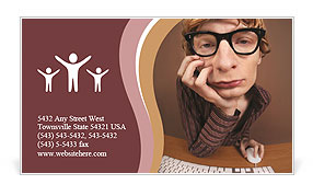 0000082540 Business Card Template