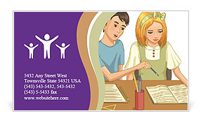 0000082610 Business Card Template