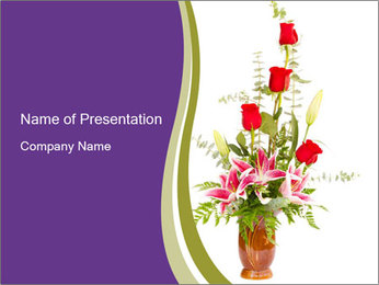 0000082645 PowerPoint Template - Slide 1