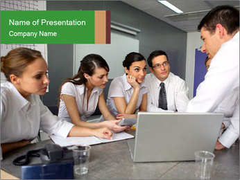 0000082680 PowerPoint Template - Slide 1