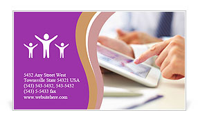 0000082804 Business Card Template