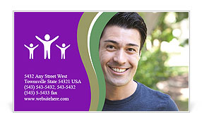 0000082842 Business Card Template