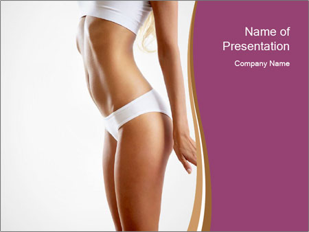 Body shape - PowerPoint Template - SmileTemplates.com 5f385f891