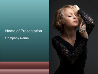 0000082902 PowerPoint Template - Slide 1