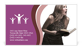 0000083017 Business Card Template