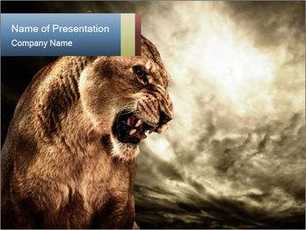 0000083087 PowerPoint Templates - Slide 1