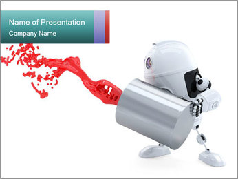 0000083208 PowerPoint Template - Slide 1