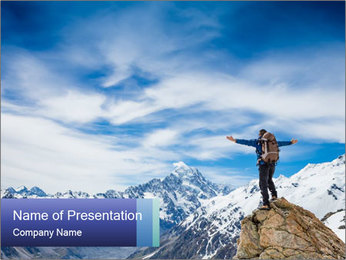 0000083285 PowerPoint Templates - Slide 1