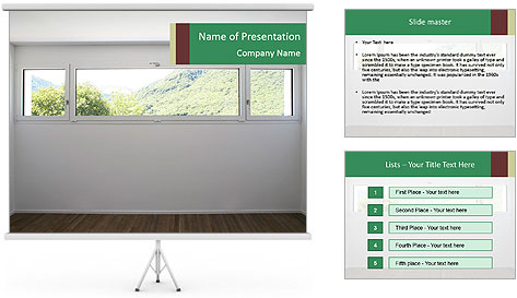 0000083327 PowerPoint Template