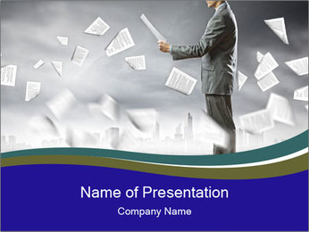 0000083373 PowerPoint Template - Slide 1
