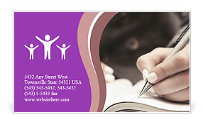 0000083432 Business Card Template