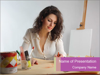 0000083746 PowerPoint Template - Slide 1
