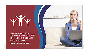 0000084009 Business Card Template