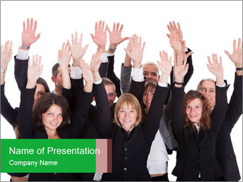 0000084090 PowerPoint Template - Slide 1