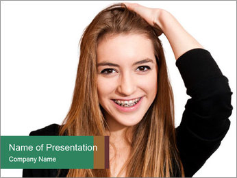 0000084096 PowerPoint Template - Slide 1