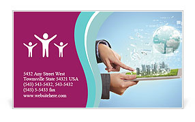 0000084123 Business Card Template
