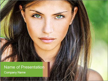 0000084301 PowerPoint Template - Slide 1