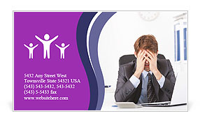 0000084722 Business Card Template