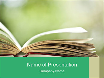 0000084952 PowerPoint Template - Slide 1