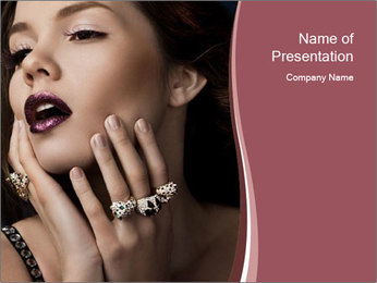 0000084962 PowerPoint Template - Slide 1