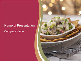 0000085116 PowerPoint Template - Slide 1