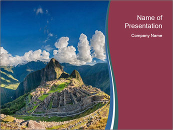 0000085200 PowerPoint Template - Slide 1