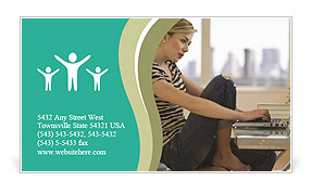 0000085456 Business Card Template