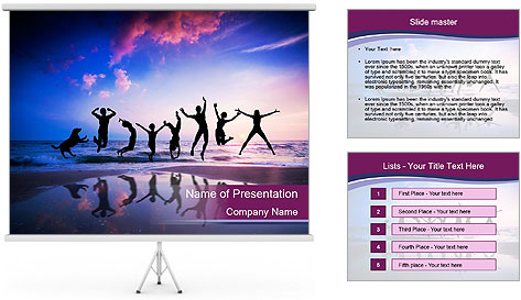 0000085744 PowerPoint Template