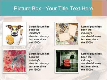 Shaving soap and razor blade PowerPoint Templates - Slide 14