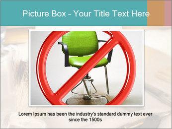 Shaving soap and razor blade PowerPoint Templates - Slide 16