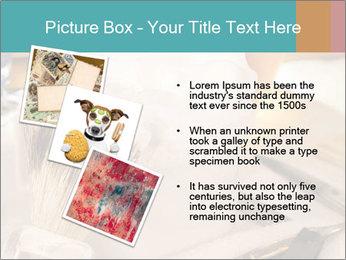 Shaving soap and razor blade PowerPoint Templates - Slide 17