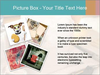 Shaving soap and razor blade PowerPoint Templates - Slide 23