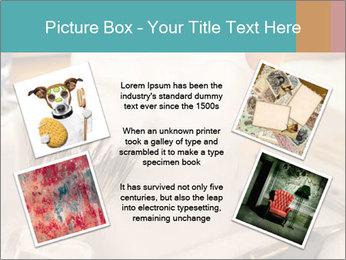 Shaving soap and razor blade PowerPoint Templates - Slide 24