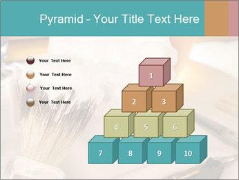 Shaving soap and razor blade PowerPoint Templates - Slide 31