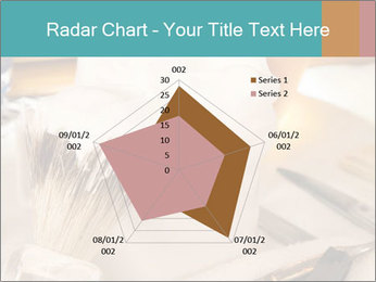 Shaving soap and razor blade PowerPoint Templates - Slide 51