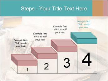Shaving soap and razor blade PowerPoint Templates - Slide 64