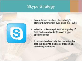 Shaving soap and razor blade PowerPoint Templates - Slide 8