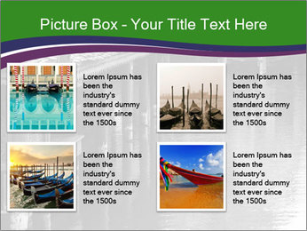 Traditional floating market in Thailand PowerPoint Templates - Slide 14